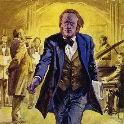 Wagner's Trip to Paris Was a Disaster - His Opera Rienzi Was Rejected--Giclee Print