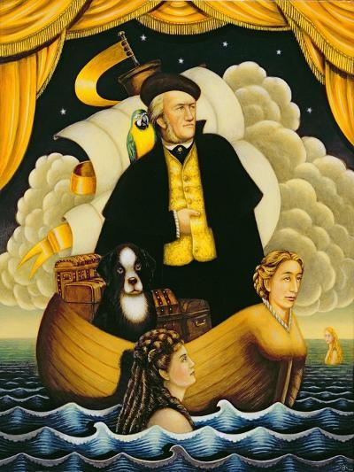 Wagner, the Flying Dutchman, 2001-Frances Broomfield-Giclee Print
