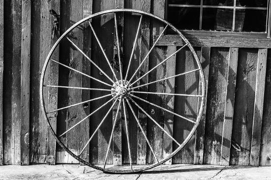 Wagon Wheel Background-Schub.Photo-Art Print