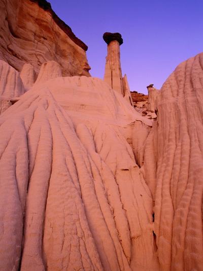 Wahweap Hoodoos, Grand Staircase Escalante National Park, Arizona, USA-Frank Krahmer-Photographic Print