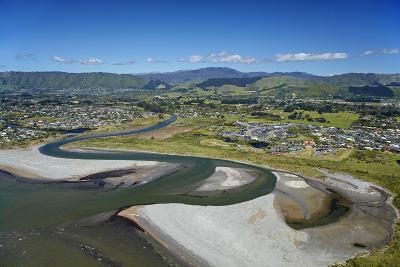 Waikanae River Mouth, Kapiti Coast, Wellington Region, New Zealand-David Wall-Photographic Print