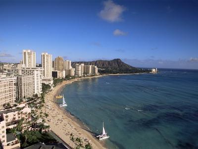 Waikiki, Oahu, Hawaiian Islands, United States of America, Pacific, North America--Photographic Print