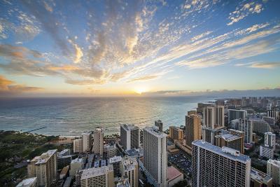 Waikiki Strip-Cameron Brooks-Photographic Print