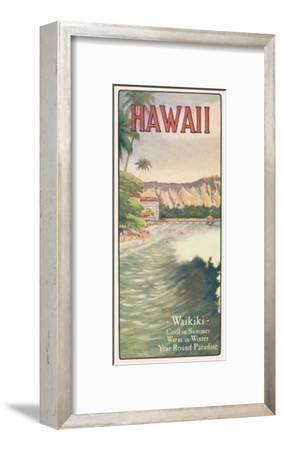 Waikiki--Framed Giclee Print