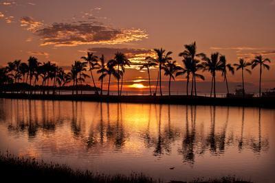 Waikoloa Sunset at Anaeho'omalu Bay-NT Photography-Photographic Print