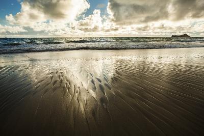 Waimanalo Beach Sunrise-Cameron Brooks-Photographic Print