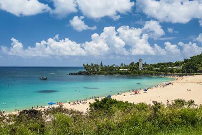 Waimea Bay, North Shore Oahu, Hawaii, United States of America, Pacific-Michael-Photographic Print