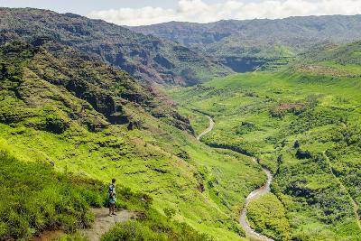 Waimea Canyon State Park, Kauai, Hawaii, United States of America, Pacific-Michael DeFreitas-Photographic Print