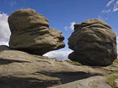 Wain Stones on Bleaklow Moor, Peak District National Park, Derbyshire, England-Neale Clarke-Photographic Print