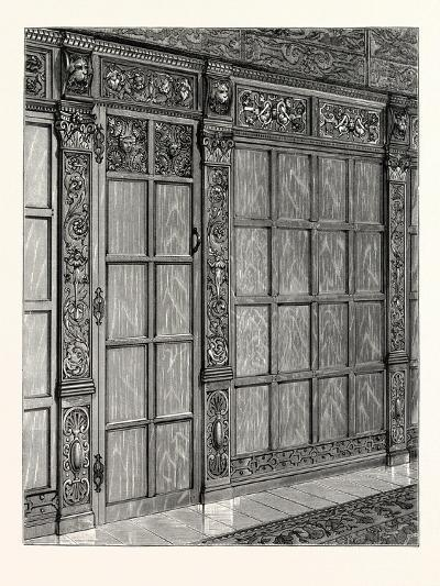 Wainscoting from an Old House at Exeter, South Kensington Museum, UK--Giclee Print