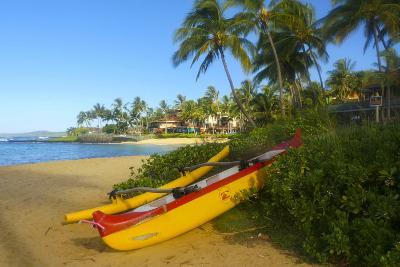 Waiohai Beach, Poipu, Kauai, Hawaii-Douglas Peebles-Photographic Print