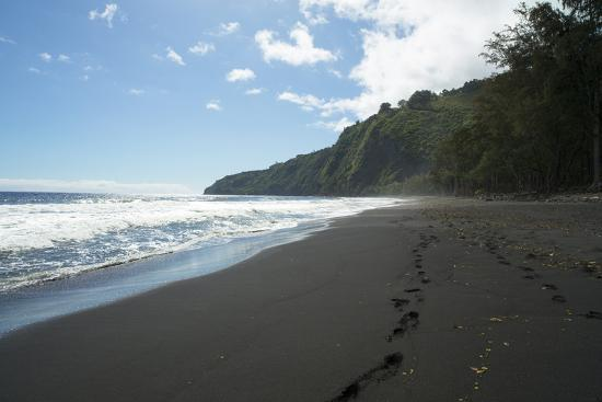 Waipio Valley, Hamakua Coast, Big Island, Hawaii, USA-Douglas Peebles-Photographic Print