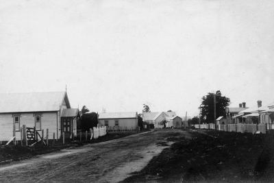 Waipu Congregational Church and Presbyterian Church--Photographic Print
