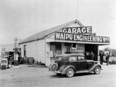 Waipu Engineering and Garage--Photographic Print