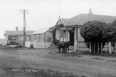 Waipu Police Station and Post Office, C.1910--Photographic Print