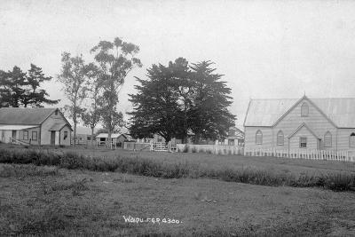 Waipu Presbyterian Chruch and Hall--Photographic Print