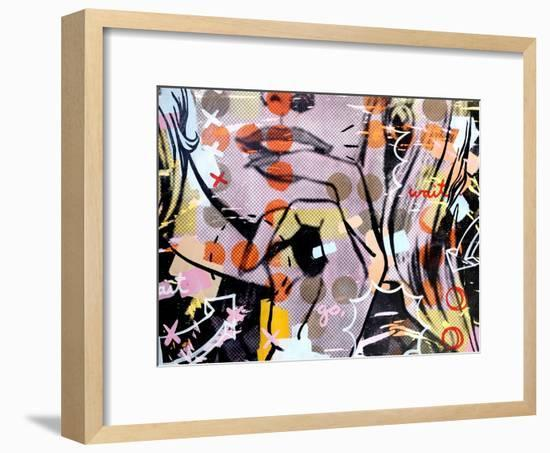 Wait wait…go!-Dan Monteavaro-Framed Giclee Print
