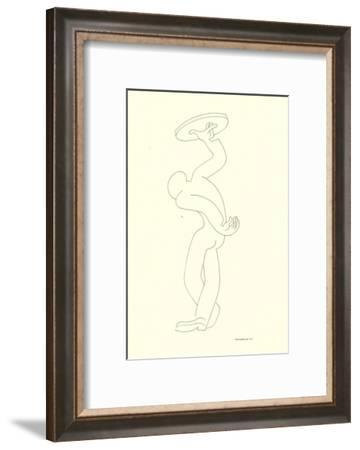 Waiter No. 50-Covarrubias-Framed Art Print