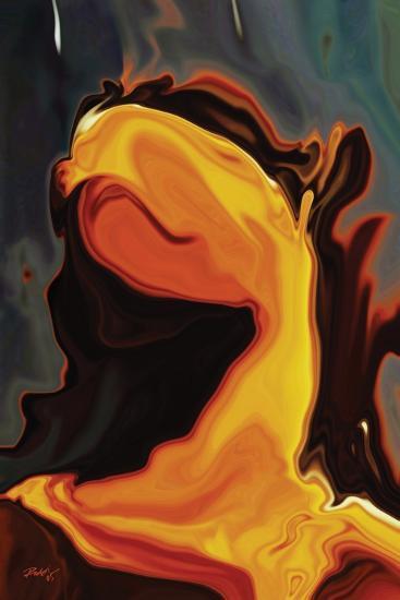 Waiting 4-Rabi Khan-Art Print