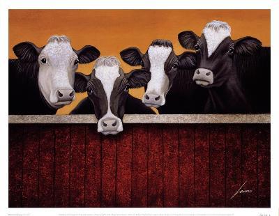 Waiting For Company-Lowell Herrero-Art Print