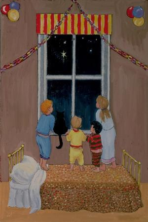 Waiting for Father Christmas-Margaret Loxton-Giclee Print