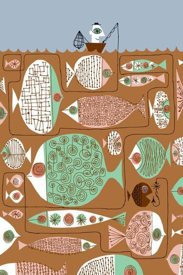 Waiting for the Big One-Melinda Beck-Art Print
