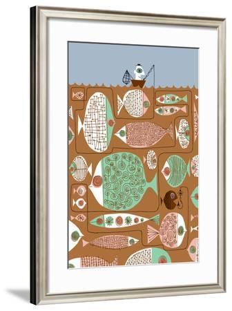 Waiting for the Big One-Melinda Beck-Framed Art Print
