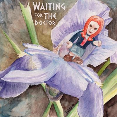 Waiting for the Doctor 2-Jennifer Redstreake Geary-Art Print