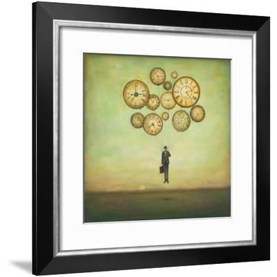 Waiting for Time to Fly-Duy Huynh-Framed Art Print
