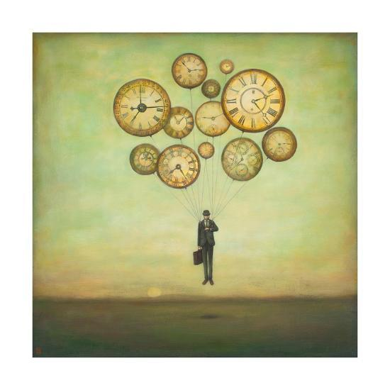 Waiting for Time to Fly-Duy Huynh-Art Print