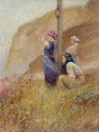 Waiting on the Cliffs-Robert Jobling-Giclee Print