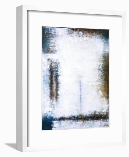 Waiting-Hyunah Kim-Framed Art Print