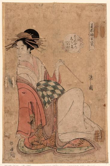 Wakanaya Uchi Shiratsuyu-Hosoda Eishi-Giclee Print
