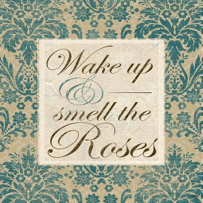 Wake Up and Smell the Roses-Elizabeth Medley-Art Print