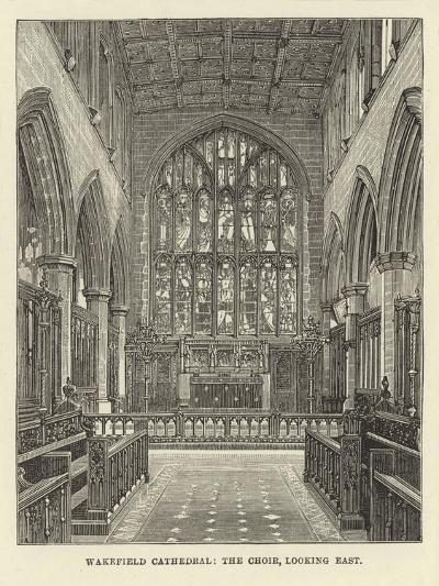 Wakefield Cathedral, the Choir, Looking East--Giclee Print