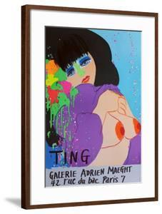 Expo Galerie Maeght I by Walasse Ting