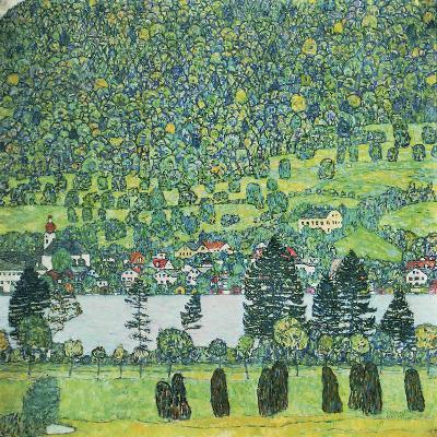 Waldabhang In Unterach Am Attersee-Gustav Klimt-Giclee Print