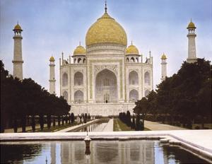 Agra, Taj-Mahal, 1906 by Waldemar Abegg