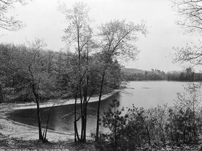 Walden Pond from Henry David Thoreau's Hut