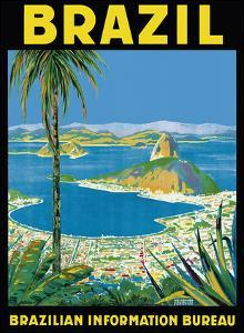 Brazil - Rio de Janeiro - Brazilian Information Bureau by Waldomiro Gon?alves Christino