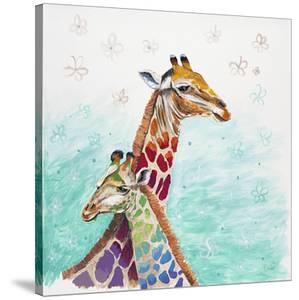 Whimsical Giraffes by Walela R.