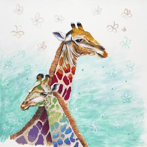 Whimsical Giraffes by Walela R.