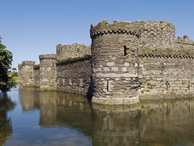 Wales, Anglesey, Beaumaris Castle Is One of Iron Ring of Castles Build by Edward I-John Warburton-lee-Photographic Print
