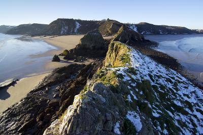 Wales Coast 3-Charles Bowman-Photographic Print