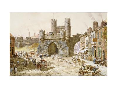 Walgate Bar, York-Louise Rayner-Giclee Print