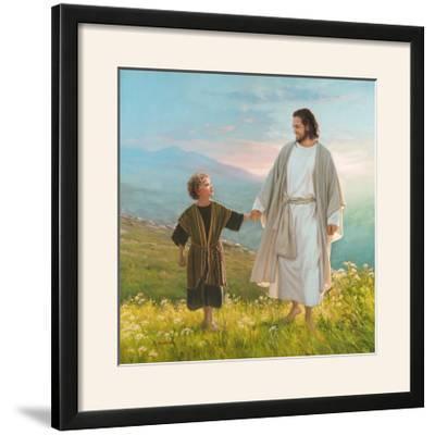 Walk Beside Me-Mark Missman-Framed Photographic Print