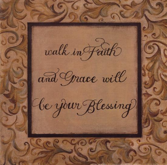 Walk in Faith-Pamela Desgrosellier-Art Print