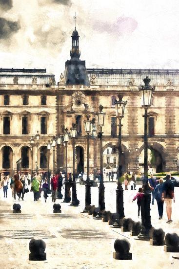 Walk in Paris-Philippe Hugonnard-Giclee Print