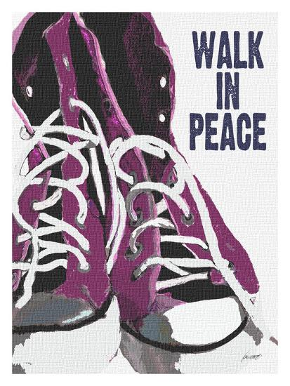 Walk In Peace-Lisa Weedn-Giclee Print