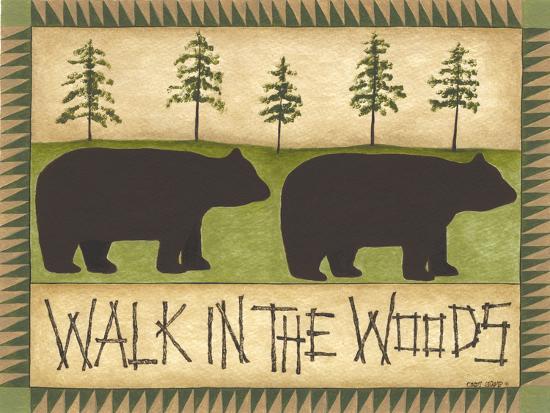 Walk in the Woods-Cindy Shamp-Art Print